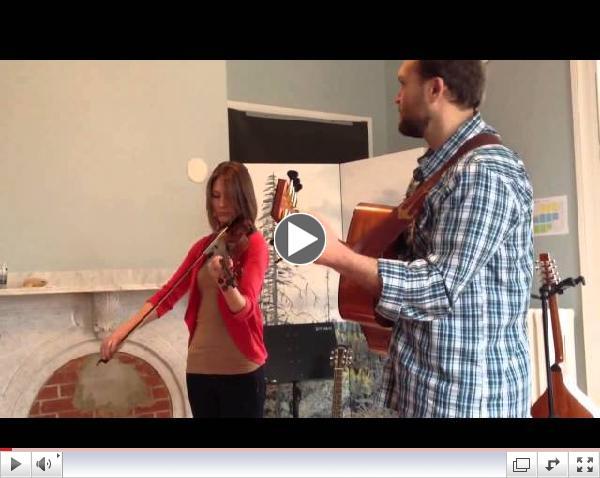 April NOON TUNES: Erica Brown & Matt Shipman