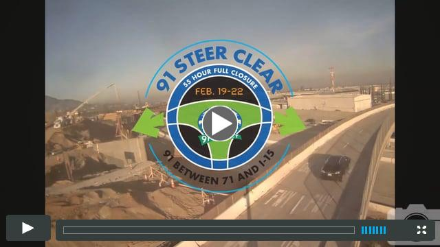 SR-91 Steer Clear Time Lapse