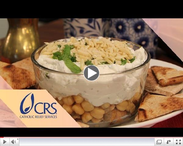 Fattet Laban from Lebanon | CRS Rice Bowl's Global Kitchen