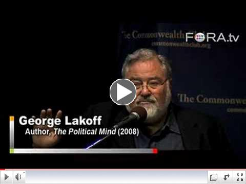 Idea Framing, Metaphors, and Your Brain - George Lakoff