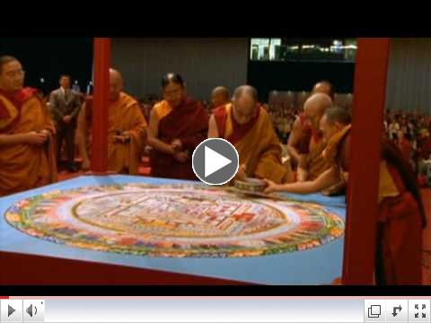construction and destruction of a mandala