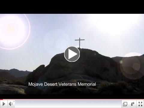 Mojave Desert Memorial Cross