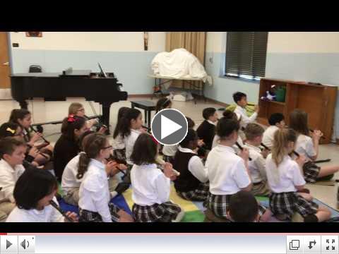 Fourth Grade Music Class!