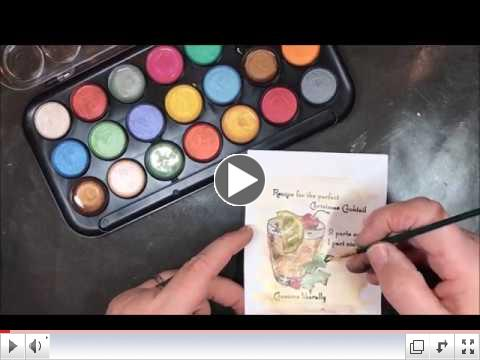 Pearlescent Watercolors