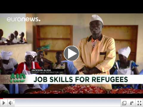 Aid Zone: Training for refugees in Uganda, a model of integration / EuroNews