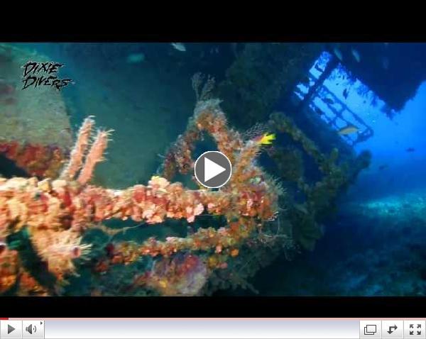 Castor Wreck with Lady Go Diver -Dixie Divers