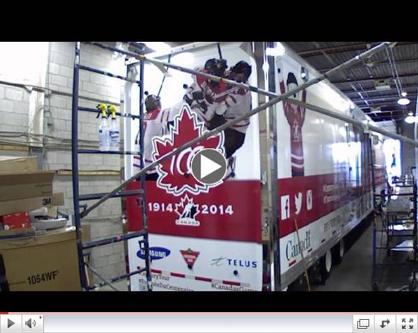 Celebrating Hockey Canada's 100 year anniversary