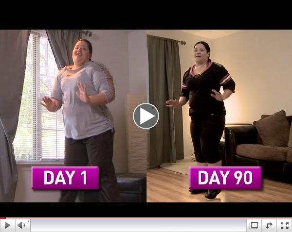 Zumba Fitness Rush 90 Day Challenge: Daisy's Story