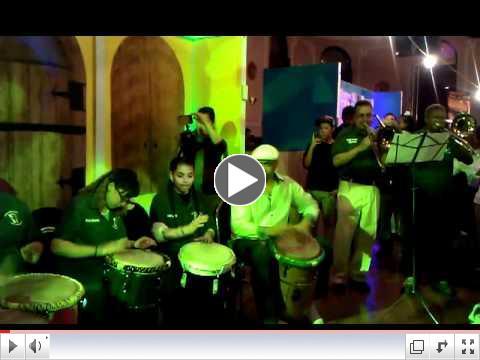 Students of Dr. Pedro Albizu Campos Puerto Rican High School Perform Bomba