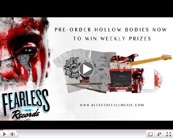 Blessthefall - Deja Vu (Pre-Order 'Hollow Bodies')