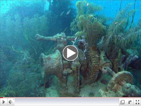 Roatan Wreck of the Prince Albert