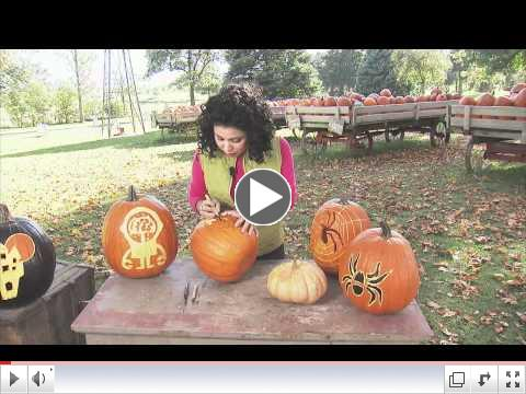 HOW TO ETCH A PUMPKIN