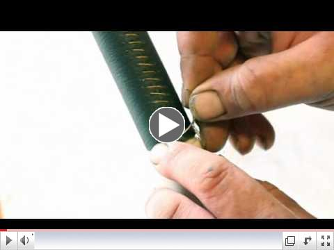 Figaro leather trim DIY video