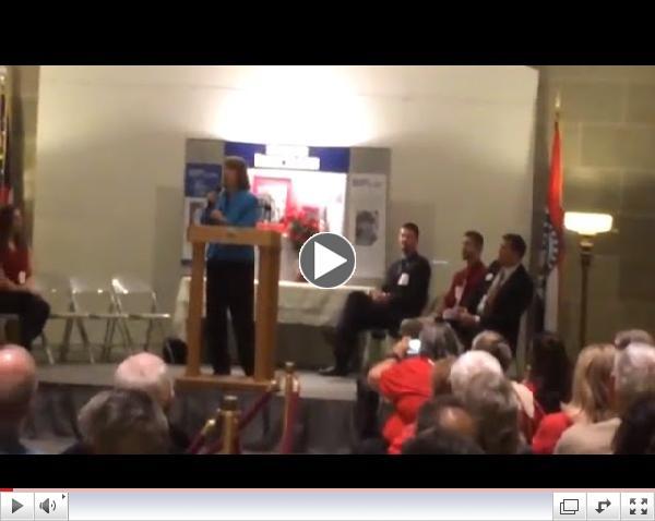 Video link to Carol Tobias' rally speech