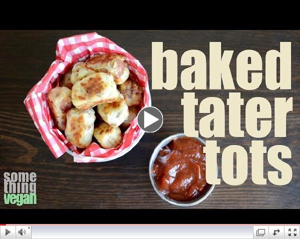 baked tater tots (vegan & gluten-free) Something Vegan