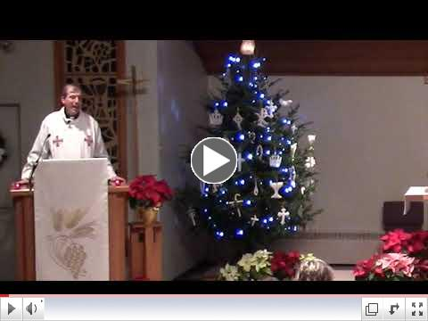Pr. Steve's Christmas Eve Sermon -