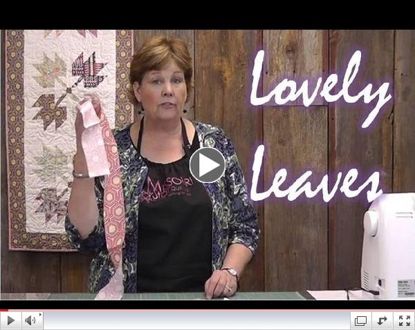 Lovely Leaves Wall Hanging Tutorial