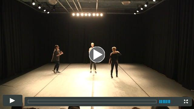 The Sound of Philadelphia - Choreography by Pamela Hetherington. Performed by Pamela Hetherington, Rosie Marinelli and Robin Passmore