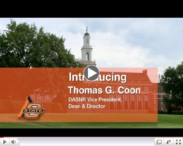 OkState Ag VP Welcome