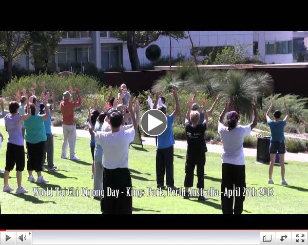 World Tai Chi Qigong Day 2013 - Kings Park Perth Western Australia