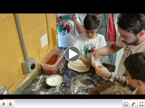 Pizza Making Day - Video Clip #7 - Summer Camp, Day 7 - June 27, 2017