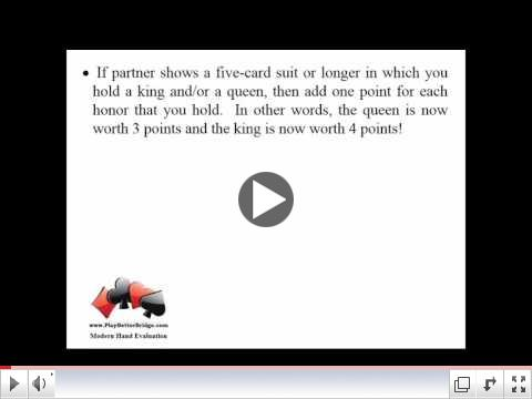 5 minute video clip from Modern Hand Evaluation Video Lesson