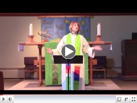Pr. Christine's Sermon: Tell Me Your Name