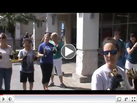 Carol of the Bells Flash Mob, Honolulu, HI