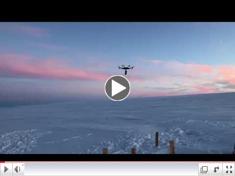 Greenland GPR Drone-11:00 PM Edition AHPS/FAMIARF