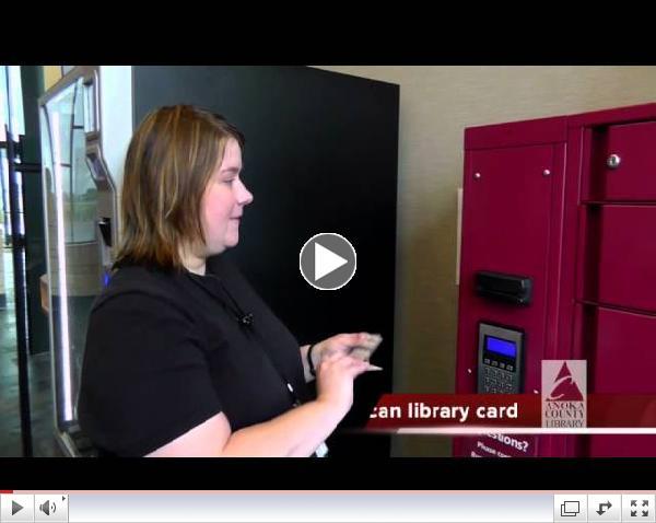 Using Anoka County's Library on the Go Lockers