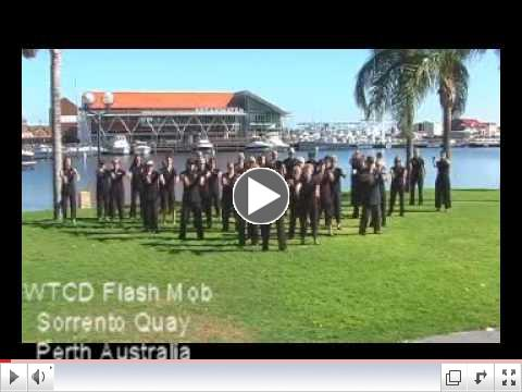 World First World Tai Chi Day  Flash Mob 2011 Sorrento Quay Perth Australia