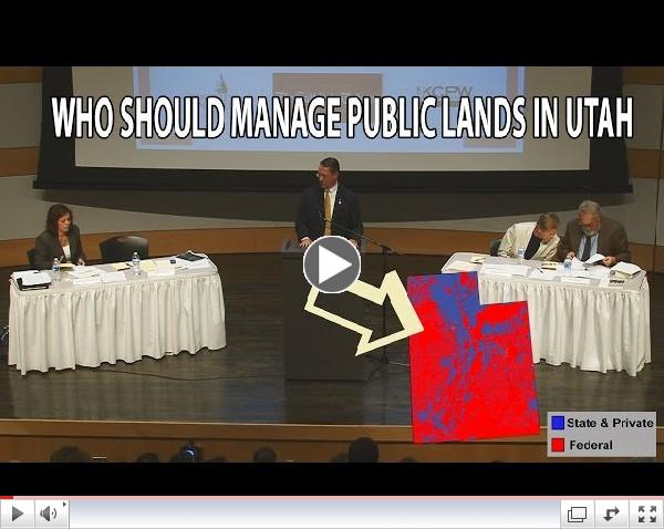 Who Should Manage Public Lands - This Weekend