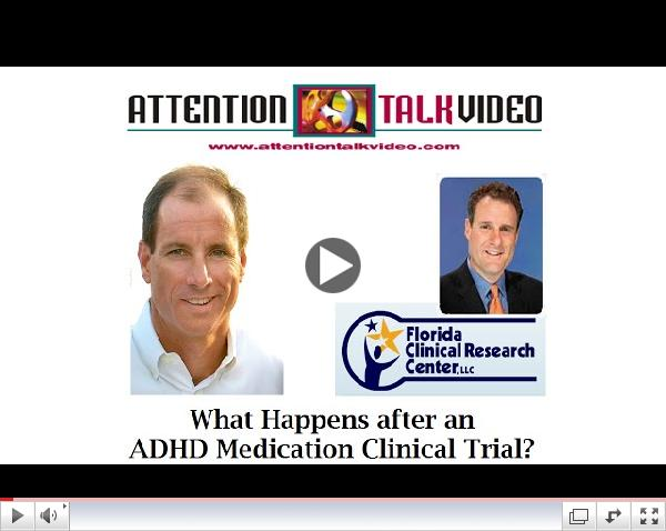 What Happens after an ADHD Medication Clinical Trial?