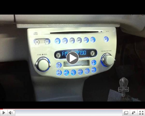 The Figaro Shop - Nissan Figaro Upgraded Stereo In Detail