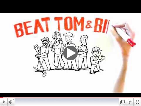 Beat Tom and Bill - ADToons