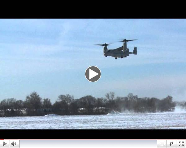 An inside look at the CV-22 Osprey