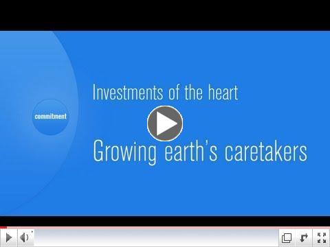 Growing Earth's caretakers