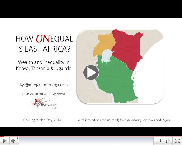 How (un)equal is East Africa?