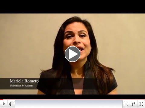 Mariela Romero, Univision 34 Atlanta #iamGALEO