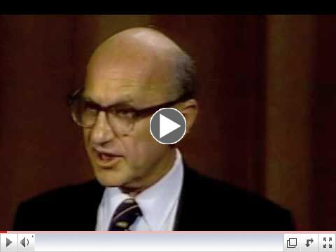 Milton Friedman: Socialism is Force