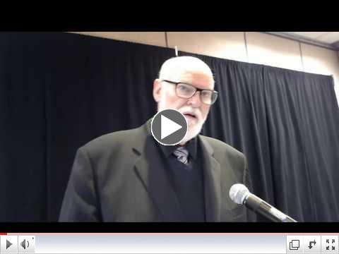 Senator Jim Beall addresses the advocates...