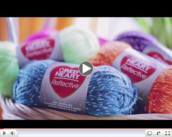 Introducing Red Heart Reflective Yarn