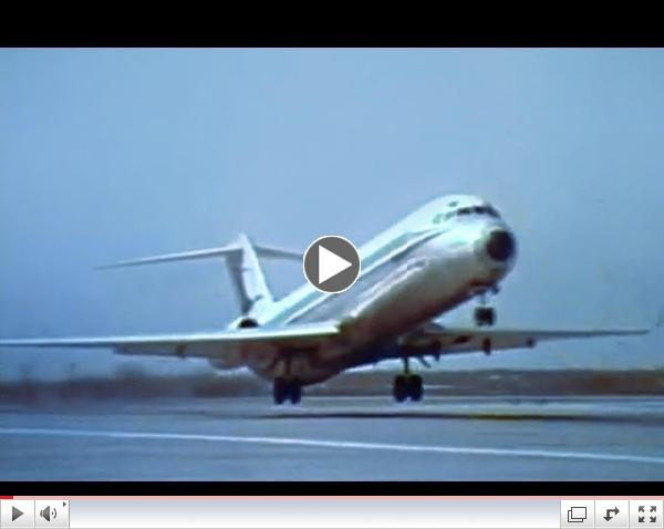 North Central Airlines Promo Film - 1972