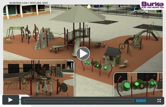 Ursuline Academy's New Playground