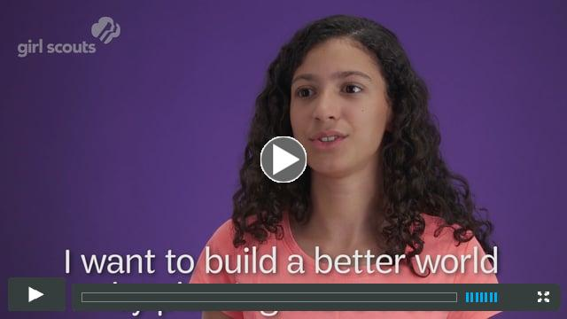 Build a Better World with Girl Scouts