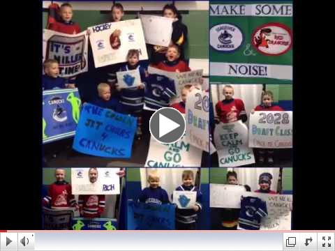 Canucks Suite Contest Winners! West Kelowna Red Dragons