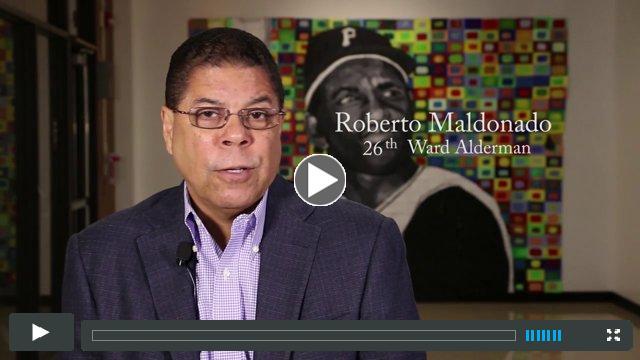 Alderman Roberto Maldonado Celebrates Clemente's 40th