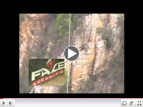 World's Highest Bungee to Beat Huntington's Disease