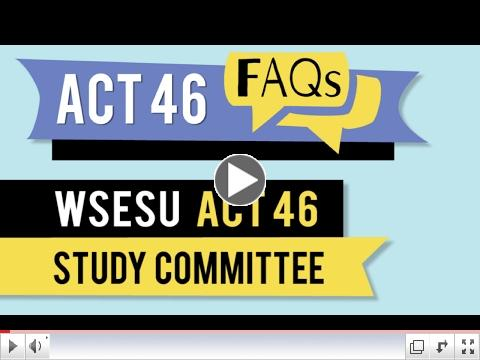 Act 46 FAQs - WSESU Act 46 Study Committee