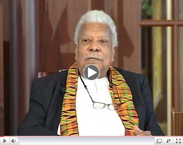 Library of Congress: Conversation with African Poet and Writer Ali Mazrui
